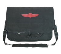 Rothco Black Israeli Paratrooper Bag - 8127