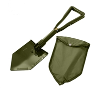 Rothco Deluxe Tri-fold Shovel With Cover - 849