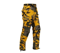 Rothco Yellow Camouflage BDU Pants - 8875