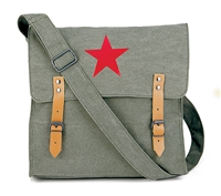 Rothco Olive Drab Vintage Red Star Bag - 9142