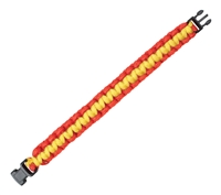 Rothco Red and Yellow Paracord Bracelet - 931