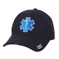 Rothco Navy EMT Deluxe Insignia Cap - 99381