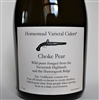 500ml bottle of Aaron Burr Homestead Varietal Cider Choke Pear Perry from Wurtsboro New York