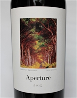 750ml bottle of 2015 vintage Aperture Cellars Oliver Ranch Vineyard Cabernet Sauvignon from Alexander Valley of Sonoma California