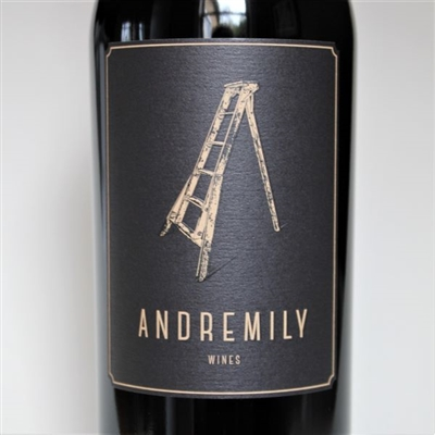 750ml bottle of 2017 Andremily Wines Syrah No.6 from Santa Barbara County on the Central Coast of California