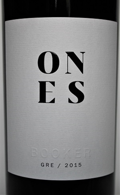 750ml bottles of red wine Grenache by Booker Vineyards Paso Robles California
