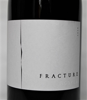 750ml bottle of Booker Wines Fracture 2016, 100% Syrah from Paso Robles California