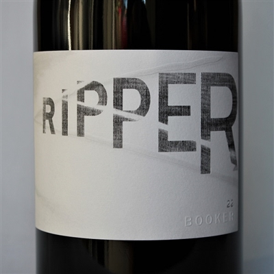750ml bottle of Booker Wines Ripper 22, 100% Grenache from Paso Robles California