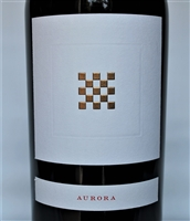 750 ml bottle of Aurora Vineyard proprietary red wine blend by Checkerboard Vineyards in Diamond Mountain District AVA of Napa Valley California