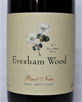 750ml bottle of 2013 Evesham Wood Pinot Noir from the Eola-Amity Hills of the Willamette Valley in Oregon