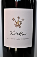 750ml bottle of 2014 Fait-Main Bettinelli Sleeping Lady Cabernet Sauvignon red wine from Yountville Napa Valley California