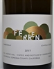 750ml bottle of 2015 Ferren Chardonnay from the Sonoma Coast of California