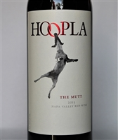 750ml bottle of 2015 Hoopla The Mutt Red Blend from Napa Valley California