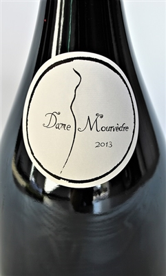 750ml bottle of 2013 Villa Dondona Dame Mourvedre by Domaine Lynch-Suquet of the AOP Languedoc in Montpeyroux France