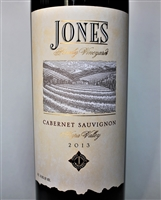 750ml bottle of 2013 Jones Family Estate Cabernet Sauvignon from Napa Valley California