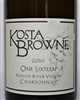 750ml bottle of 2016 Kosta Browne One Sixteen Chardonnay from the Russian River Valley of Sonoma County California