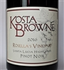 750 ml bottle of Kosta Browne Pinot Noir from the Rosella's Vineyard in the Santa Lucia Highlands AVA of Monterey County California