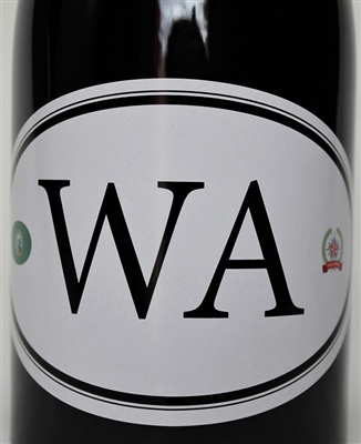 750ml bottle of Locations WA4 a red wine blend of Syrah Merlot and Petite Sirah from Washington State by Dave Phinney