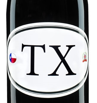 750ml bottle of Locations TX6 TExas a red wine blend of Syrah Mourvedre Carignan Grenache from Texas by Dave Phinney