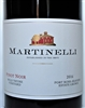 750 ml bottle of 2016 Martinelli Family Pinot Noir red wine from the Wild Thyme Vineyard in the Fort Ross-Seaview AVA of the Sonoma Coast in Sonoma County California