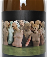 750ml bottle of 2015 Orin Swift Mannequin Chardonnay Proprietary white wine from California
