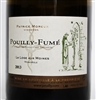 750 ml bottle of 2013 Patrice Moreux Pouilly-Fume from La Loge Aux Moines Monopole vineyard in the Loire Valley of France.  100% Sauvignon Blanc.