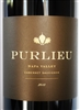750 ml bottle of 2013 vintage Purlieu Wines Cabernet Sauvignon from the Napa Valley AVA in California