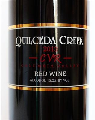 750 ml bottle of 2013 Quilceda Creek CVR Proprietary Red Blend from the Columbia Valley AVA of Washington State