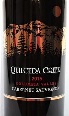 750ml bottle of 2015 Quilceda Creek Columbia Valley Cabernet Sauvignon Columbia Valley Washington