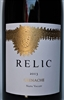 750ml bottle of 2013 Relic Wines Grenache red wine from the Paras Vineyard on Mt. Veeder in Napa Valley California