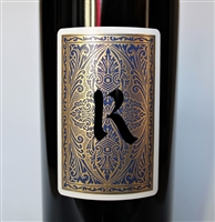 750ml bottle of 2016 Realm Cellars Falstaff Proprietary blend of Cabernet Franc and Cabernet Sauvignon from Napa Valley California