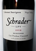 750 ml bottle of 2014 Schrader LPV Beckstoffer Las Piedras Vineyard Cabernet Sauvignon from Napa Valley, California