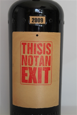 750 ml bottle of 2009 Sine Qua Non Estate Syrah red wine from the Eleven Confessions Vineyard in Sta. Rita Hills AVA of California