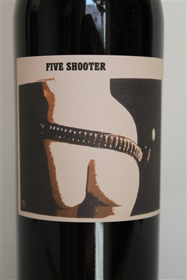 750ml bottle of Sine Qua Non Wine Five Shooter Grenache from the Central Coast of California