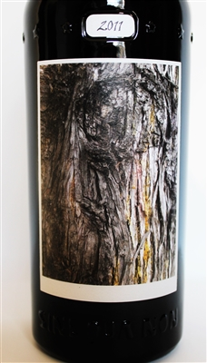 750 ml bottle of Sine Qua Non Patine Estate Syrah from the Eleven Confessions Vineyard produced and bottled in Ventura California by Manfred Krankl