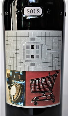 750 ml bottle of 2012 Sine Qua Non Rattrapante Estate Grenache from the Eleven Confessions Vineyard produced and bottled in Ventura California by Manfred Krankl scoring 100 points from Robert Parker's Wine Advocate