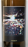 750 ml bottle of Sine Qua Non 2014 Lightmotif white wine from Ventura California with a blend of Roussanne, Chardonnay, Petite Manseng, Viognier and Marsanne.