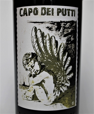 750 ml bottle of 2014 Sine Qua Non Capo Dei Putti Estate Syrah from the Eleven Confessions Vineyard produced and bottled in Ventura California by Manfred Krankl scoring 100 points from Robert Parker's Wine Advocate