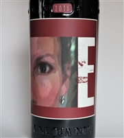 750 ml bottle of 2015 Sine Qua Non E Estate Grenache from the Eleven Confessions Vineyard produced and bottled in Ventura California by Manfred Krankl