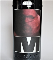750 ml bottle of 2015 Sine Qua Non M Estate Syrah from the Eleven Confessions Vineyard produced and bottled in Ventura California by Manfred Krankl scoring 100 points from Robert Parker's Wine Advocate