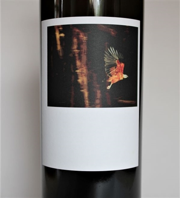 750 ml bottle of Sine Qua Non 2017 Tectumque white wine from Ventura California with a blend of Roussanne, Chardonnay, Petite Manseng, Viognier and Muscat.