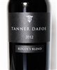 750ml bottle of 2012 Tanner Dafoe Rogue's Blend red wine from Santa Ynez California with 49% Cabernet Sauvignon 32% Cabernet Franc and 19% Merlot from the Buona Terra Vineyard.