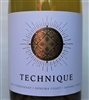 750ml bottle of 2016 Technique Chardonnay by Precision Wine Company from Sonoma Coast California