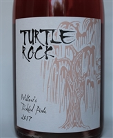 750ml bottle of 2017 Turtle Rock Rose of Grenache from the James Berry Vineyard Willow Creek District of Paso Robles California