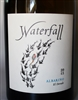 750 ml bottle of 2013 Waterfall Cellars Albarino from the Delfino Vineyard in El Dorado County California