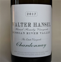 750 ml bottle of Walter Hansel Chardonnay Estate Vineyard Russian River Valley Sonoma California white wine