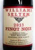 750 ml bottle of Williams Selyem Pinot Noir from Burt Williams' Morning Dew Ranch in the Anderson Valley AVA of Mendocino County
