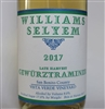 375 ml bottle of 2017 Williams Selyem Late Harvest Gewurztraminer from the Vista Verde Vineyard in San Benito County California