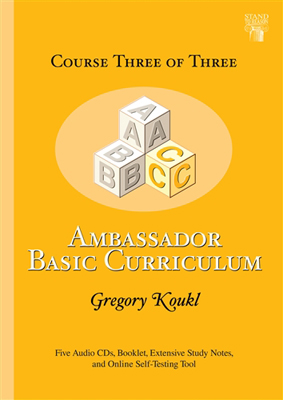 Ambassador Basic Curriculum: Course Three