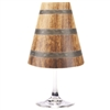 Barrel design paper red wine glass shade.